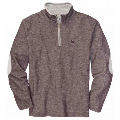 Nelson Pullover: Mulch